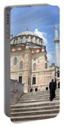 Tulip Mosque In Istanbul Portable Battery Charger