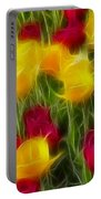 Tulips-7106-fractal Portable Battery Charger
