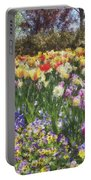 Tulips At Dallas Arboretum V33 Portable Battery Charger