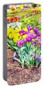 Tulips At Dallas Arboretum V65 Portable Battery Charger