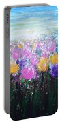 Tulips At Sunrise Portable Battery Charger