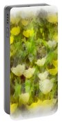 Tulips Everywhere Portable Battery Charger