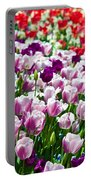 Tulips Field Portable Battery Charger