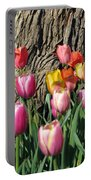 Tulips - Field With Love 07 Portable Battery Charger