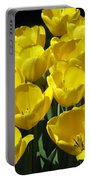 Tulips - Field With Love 17 Portable Battery Charger