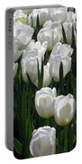 Tulips - Field With Love 19 Portable Battery Charger