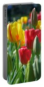 Tulips - Field With Love 22 Portable Battery Charger