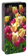 Tulips - Field With Love 35 Portable Battery Charger