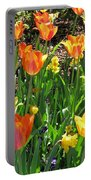 Tulips - Field With Love 41 Portable Battery Charger