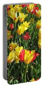 Tulips - Field With Love 49 Portable Battery Charger