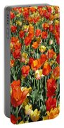 Tulips - Field With Love 51 Portable Battery Charger
