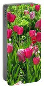 Tulips - Field With Love 54 Portable Battery Charger