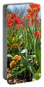 Tulips - Field With Love 64 Portable Battery Charger