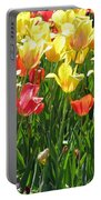 Tulips - Field With Love 65 Portable Battery Charger