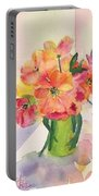 Tulips For Mother's Day Portable Battery Charger