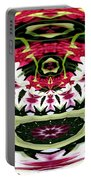Tulips Hydrangeas Easter Lilies Polar Coordinate Effect Portable Battery Charger
