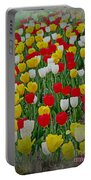 Tulips In A Field Portable Battery Charger