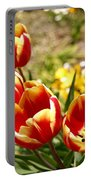 Tulips In Japan Portable Battery Charger
