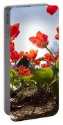 Tulips In Spring Portable Battery Charger