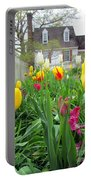 Tulips In Williamsburg Portable Battery Charger