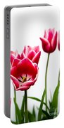 Tulips Say Hello Portable Battery Charger