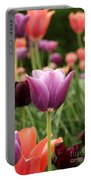 Tulips Welcome Spring Portable Battery Charger
