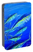 Tuna Semiabstract Portable Battery Charger