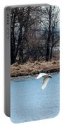 Tundra Swan Flight Portable Battery Charger
