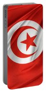 Tunisia Flag Portable Battery Charger