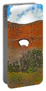 Tunnel Arch On Devils Garden Trail In Arches National Park-utah In Arches National Park-utah Portable Battery Charger