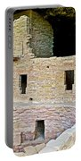 Tunnel Opening In Kiva Of Spruce Tree House On Chapin Mesa In Mesa Verde National Park-colorado  Portable Battery Charger