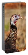 Turkey Profile Portable Battery Charger by Al Powell Photography USA