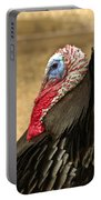 Turkey Time Portable Battery Charger by Carolyn Marshall