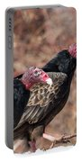 Turkey Vultures Square Portable Battery Charger
