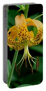 Turk's Cap Lilly Portable Battery Charger