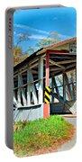 Turner's Covered Bridge Vignette Portable Battery Charger
