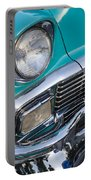 Turquoise 1956 Belair Portable Battery Charger