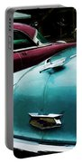 Turquoise Bel Air Portable Battery Charger