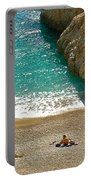 Turquoise Coast By Aegean Sea-turkey Portable Battery Charger