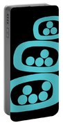 Turquoise Pods Portable Battery Charger