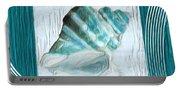 Turquoise Seashells Xxii Portable Battery Charger