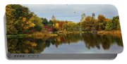 Turtle Pond - Central Park - Nyc Portable Battery Charger