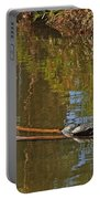 Turtles On A Log Portable Battery Charger