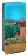 Tuscan Farm Village Portable Battery Charger