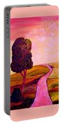 Tuscan Skies ... An Impressionist View Portable Battery Charger
