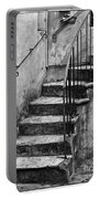 Tuscan Staircase Bw Portable Battery Charger