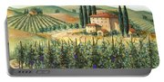 Tuscan Vineyard And Villa Portable Battery Charger