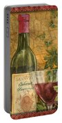 Tuscan Wine-b Portable Battery Charger