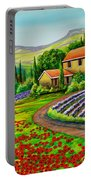 Tuscany Lavender  Portable Battery Charger