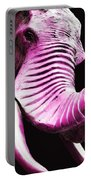 Tusk 2 - Pink Elephant Art Portable Battery Charger